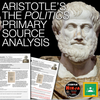 Aristotle's Primary Source Worksheet (Greece)