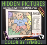 Aritculation Color by Symbol Hidden Images A Speech Therap
