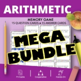 Arithmetic BUNDLE: Math Memory Games