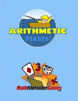 Arithmetic Fishin: Addition, Subtraction, Multiplication & Division {Game}