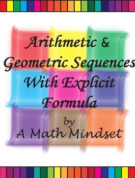 Arithmetic & Geometric Sequences Block Puzzle