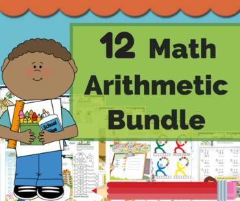 Arithmetic Math Bundle - Math Center