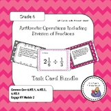 Arithmetic Operations Including Division of Fractions Task