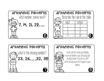 Arithmetic Patterns