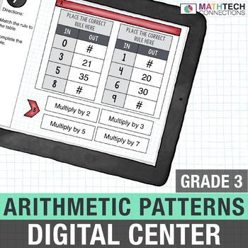 Arithmetic Patterns - 3rd Grade Digital Math Center