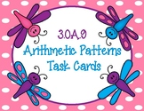Arithmetic Patterns Task Cards 3.OA.9