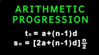 Arithmetic Progressions for Beginners