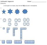 Arithmetic Sequence Discovery Activity
