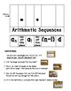 Arithmetic Sequence Foldable
