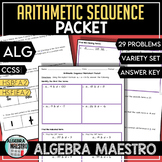 Arithmetic Sequence Packet