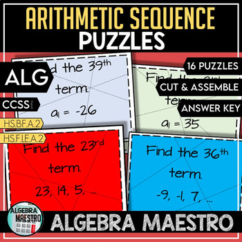 Arithmetic Sequence Puzzle