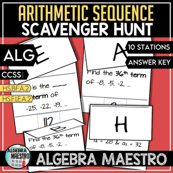 Arithmetic Sequence Relay Race