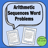 Arithmetic Sequence Word Problems
