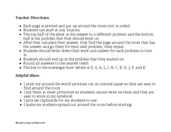 Arithmetic Sequence Word Problems Around the World Activity