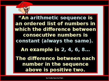 Arithmetic Sequences with GUIDED NOTES