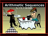 Algebra Power point:  Arithmetic Sequences with GUIDED NOTES