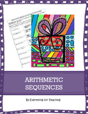Arithmetic Sequences- Coloring Activity