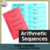 Arithmetic Sequences Foldable