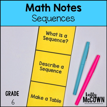 Arithmetic Sequences Notes
