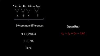 Arithmetic Sequences - PowerPoint Lesson (9.2)