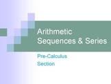 Arithmetic Sequences & Series