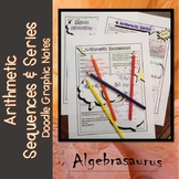Arithmetic Sequences & Series with Sigma Notation Doodle Notes