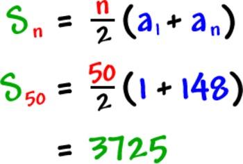 Arithmetic Series & Sequence Quiz