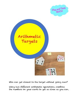 Arithmetic Targets Card Game