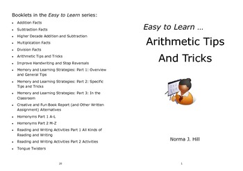 Arithmetic Tips and Tricks - Easy to Learn Series
