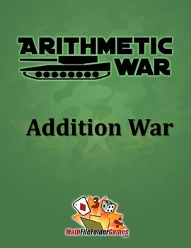 Arithmetic War: Addition Game