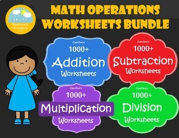Basic Math  Worksheets with Answer Keys