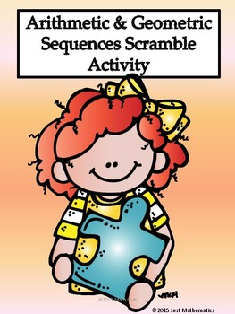 Arithmetic and Geometric Sequence Scrambler Activity