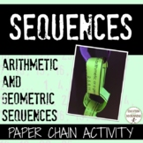 Sequences activity paper chain