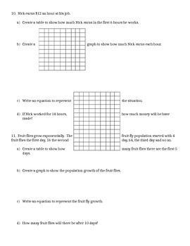 Arithmetic and Geometric Sequence Practice