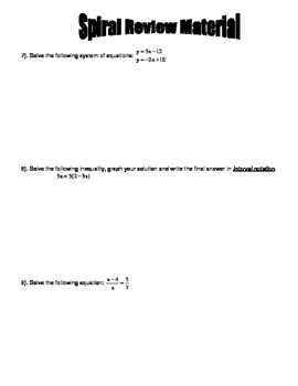 Arithmetic and Geometric Sequences Day 2 Homework Worksheet