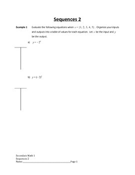 Arithmetic and Geometric Sequences Lesson 2 of 10