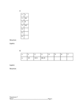 Arithmetic and Geometric Sequences Lesson 7 of 10