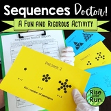 Arithmetic and Geometric Sequences Practice Activity