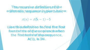 Arithmetic and Geometric Sequences Review Questions