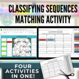 Arithmetic and Geometric Sequences in Algebra 1 Self-Checking Activity