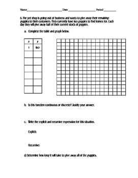 Arithmetic vs Geometric Sequences