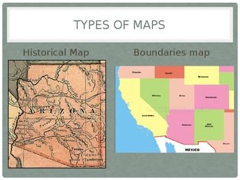 Arizona 4th Grade Geography -- Common Core Aligned