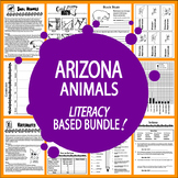 Arizona Animals (NINE Vertebrates & Invertebrates Animal Adaptation Lessons)