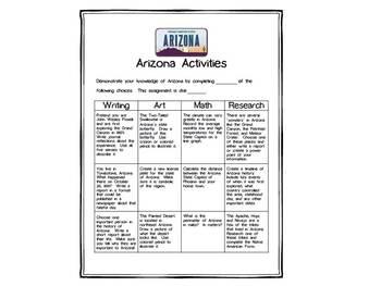 Arizona Differentiated State Activities