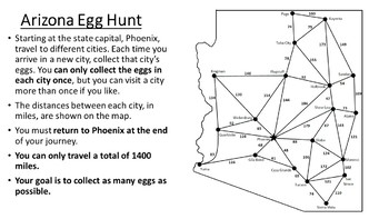 Arizona Easter Math Activity