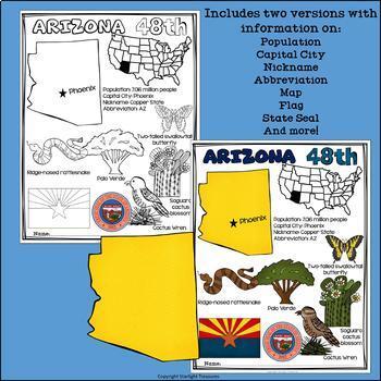 Arizona Fact Sheet