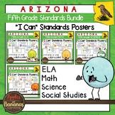 Arizona Fifth Grade Standards Posters BUNDLE