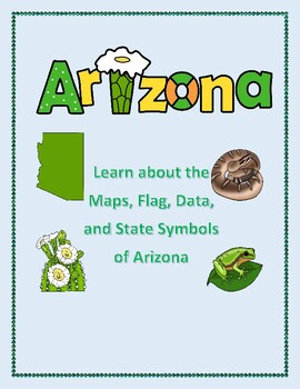 Arizona Geography Maps, Flag, and Data Analysis Assessment