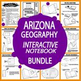 Arizona Geography Interactive Bundle–NINE Literacy-Based Arizona History Lessons