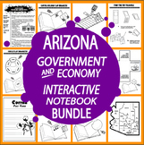Arizona Government Bundle of TEN Literacy-Based Lessons